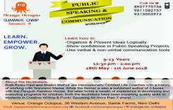 Public Speaking & Communication