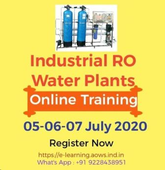 Industrial RO Water Plants Online Training