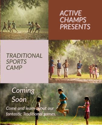 Traditional sports workshop