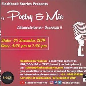 Pen, Poetry & Mic Ahmedabad Season 9