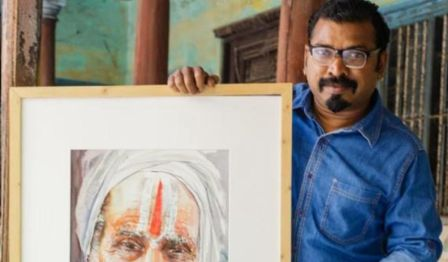 Paint with a Master by Rajkumar Sthabathy (Portrait)