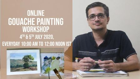 Online Watercolor & Gouache Painting Workshop