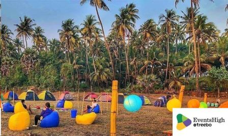 Alibaug Beach Camping with live music