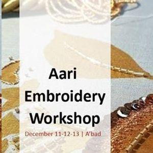 Aari Embroidery Workshop