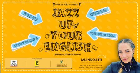 English workshop from UK for kids | Jazz Up Your English