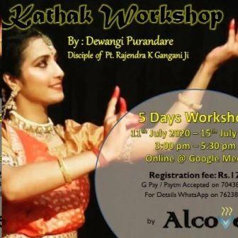 Kathak Workshop With Dewangi Purandare