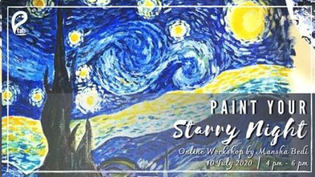 Paint Your Starry Night : Online Workshop