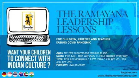 Online Global Ramayana Leadership Lessons Workshop