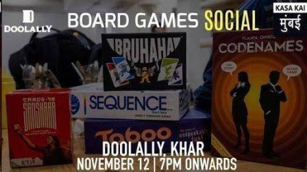 Board Games Social - 12th Nov