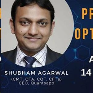 Professional Options Trading Workshop by MR. Shubham Agarwal