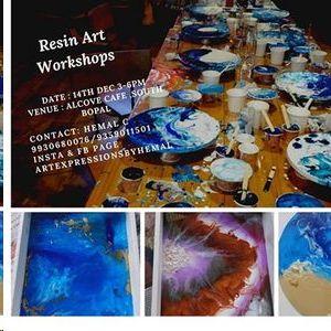 Resin Art Workshop - Ahmedabad