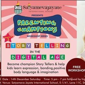 Workshop on Story Telling for parents