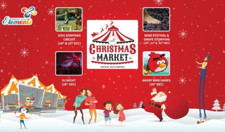 Christmas Event at Elements Mall