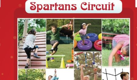 KIds Spartans circuit - With Kids Spartans circuit.