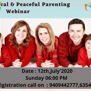 Free Practical & Peaceful Parenting Webinar