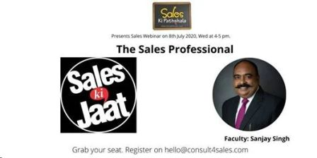 Webinar - The Sales Professional