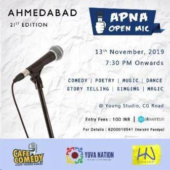 Apna Open Mic (Ahmedabad - 21st Edition)