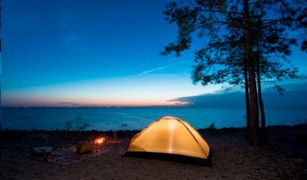 Beach Camping Alibaug with Live music & movie Screening - With bhatakna