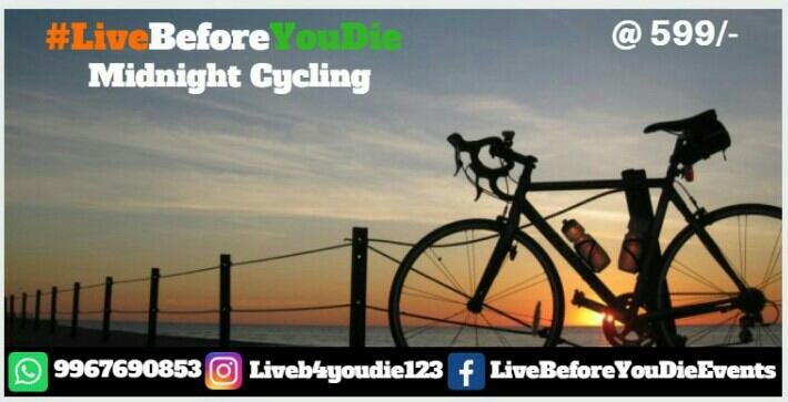 Cycling Under The Moon-Light