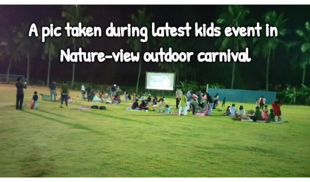 Open air movie night for KIDS + DIY outdoor gaming activities