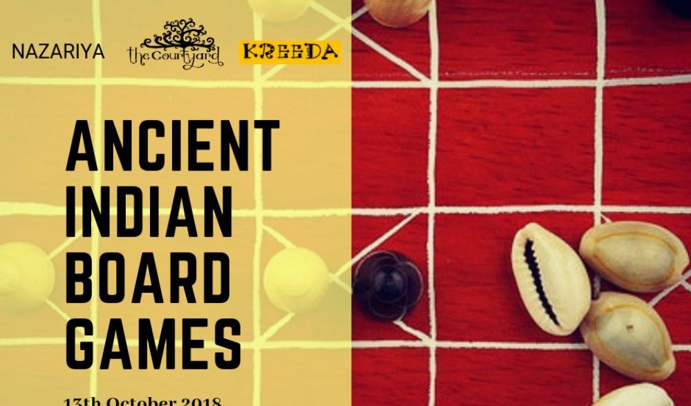 Forgotten Cultures` Workshop Series: Ancient Indian Board Games