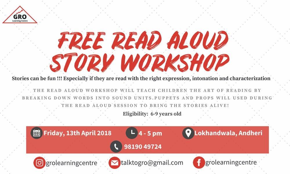 FREE Read Aloud Story Workshop