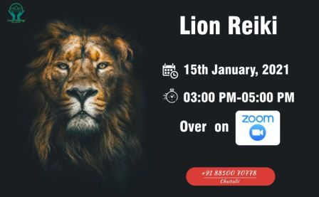 LION REIKI FOR COURAGE, BRAVERY, STRENGTH, CREATIVITY, VISION...