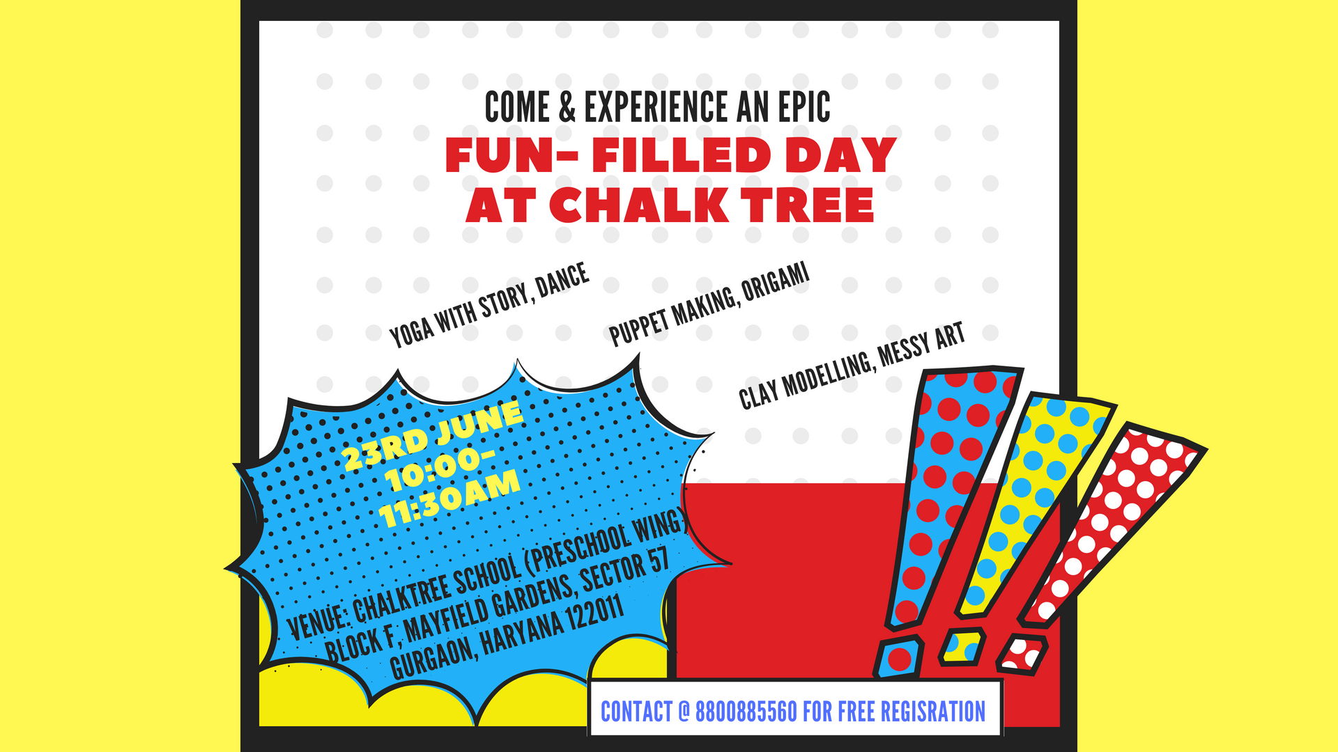 An Epic Fun-filled day at Chalk Tree School