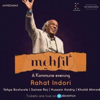 Mehfil : A Kommune Evening ft. Rahat Indori