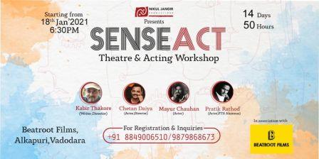 SENSEACT-Theatre & Acting Workshop