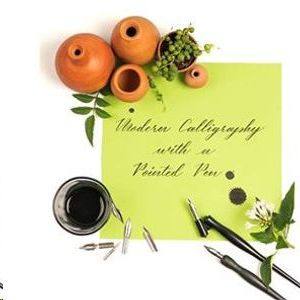 Modern Calligraphy with Pointed Pen (Basic 2 days)
