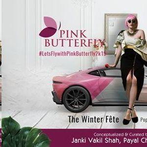 Pink Butterfly - The Winter Fête