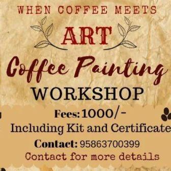 Coffee Painting Workshop