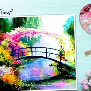 Online Romantic Water Pond Painting Workshop