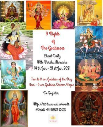 9 Nights Of The Goddesses: Daily Chant