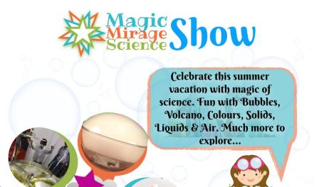 Summer Science Show - With Magic Mirage Science