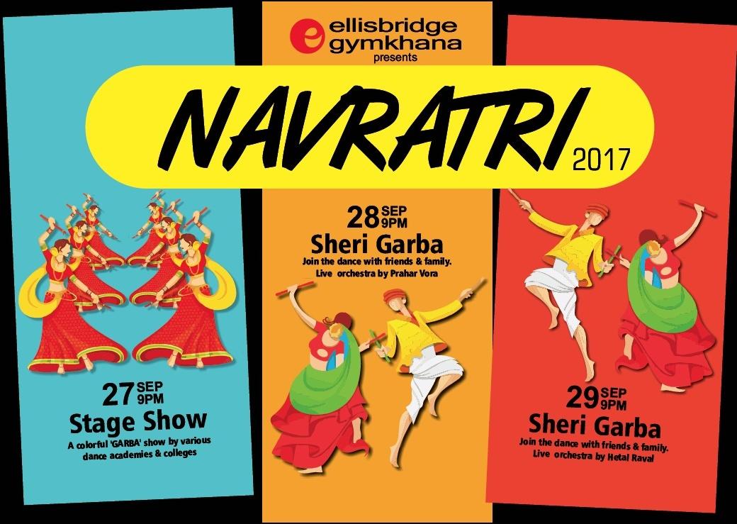 Garba Stage Show  -  Ellisbridge Gymkhana