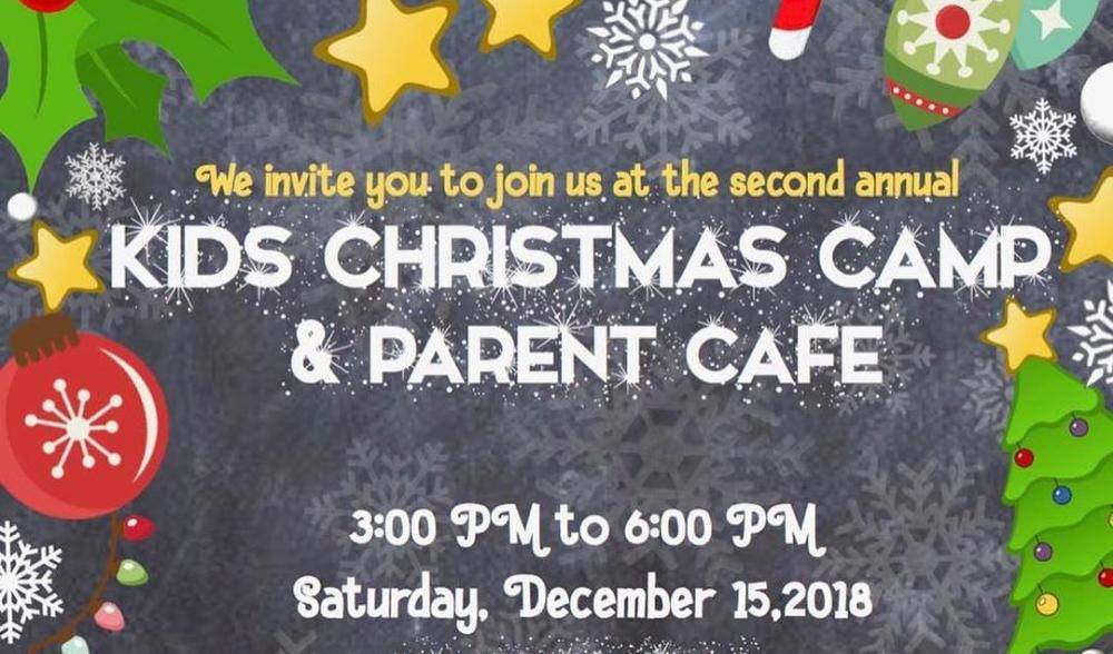 Kids Christmas Camp and Parent Cafe