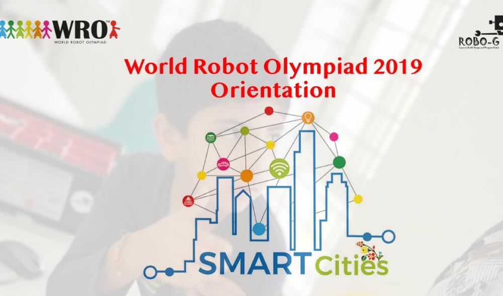 World Robot Olympiad 2019 Orientation