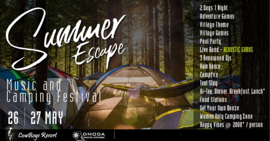Summer Escape - With DJ D, DJ Massy, Artistic Gurus