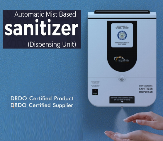 No Touch Automatic Hand Sanitizer Dispenser – Fight against COVID19