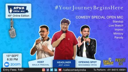 Apna Open Mic (Comedy Special - 48th Online Edition)