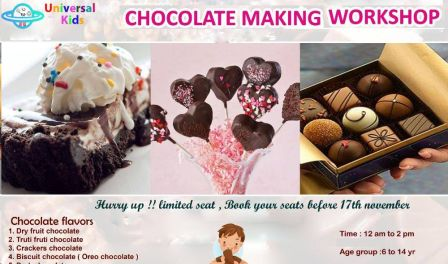 Chocolate Making- Kothrud - With Universal Kids