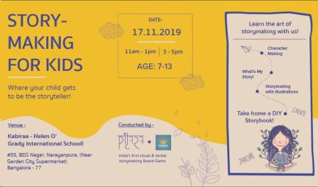 Young StoryMaker Workshop for Kids - With Jaishree Garg - Founder Pitara