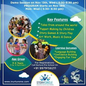 Story Telling And Reading (STAR) Program with Free Demo Session