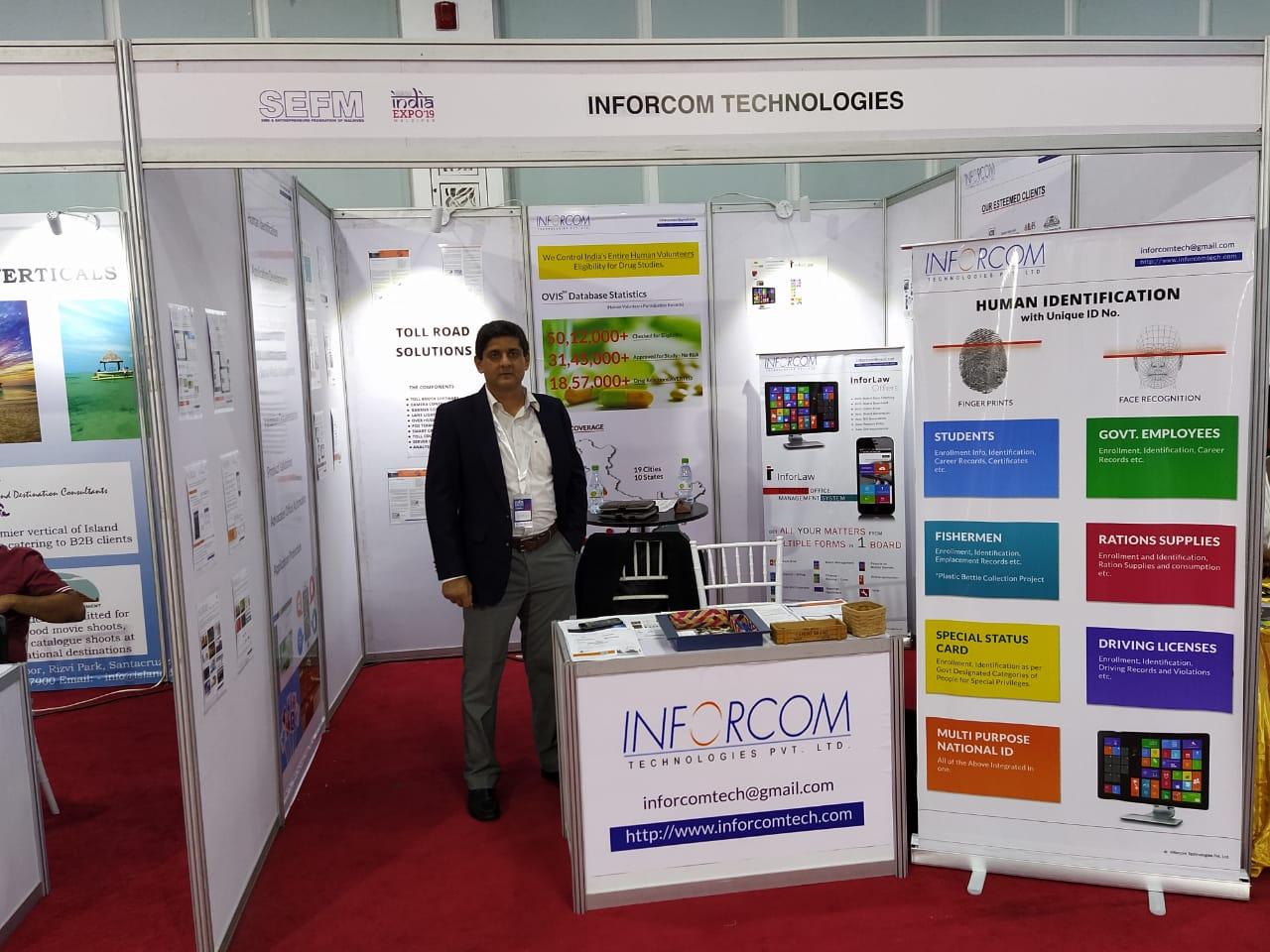 #Inforcom at India Expo 19 Conclave at #Maldives.