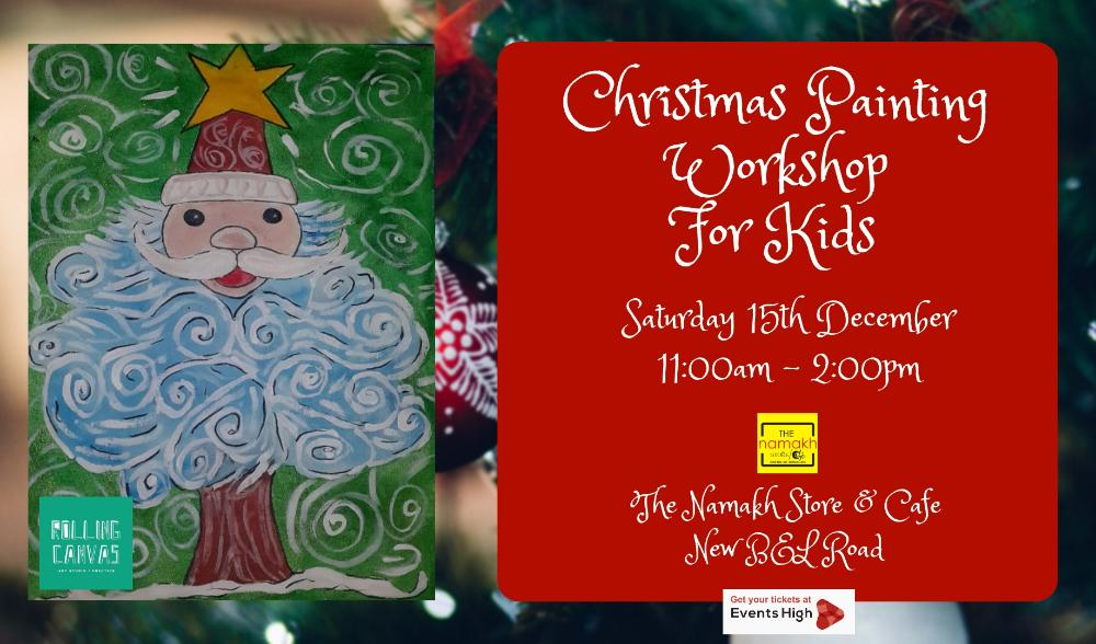 Christmas painting workshop for kids - With Suparna Maity