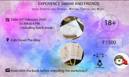 Experience Swami and Friends - With Joy Of Anubhava