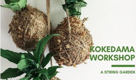 Kokedama Workshop: A String Garden - With Shilpa Chauhan