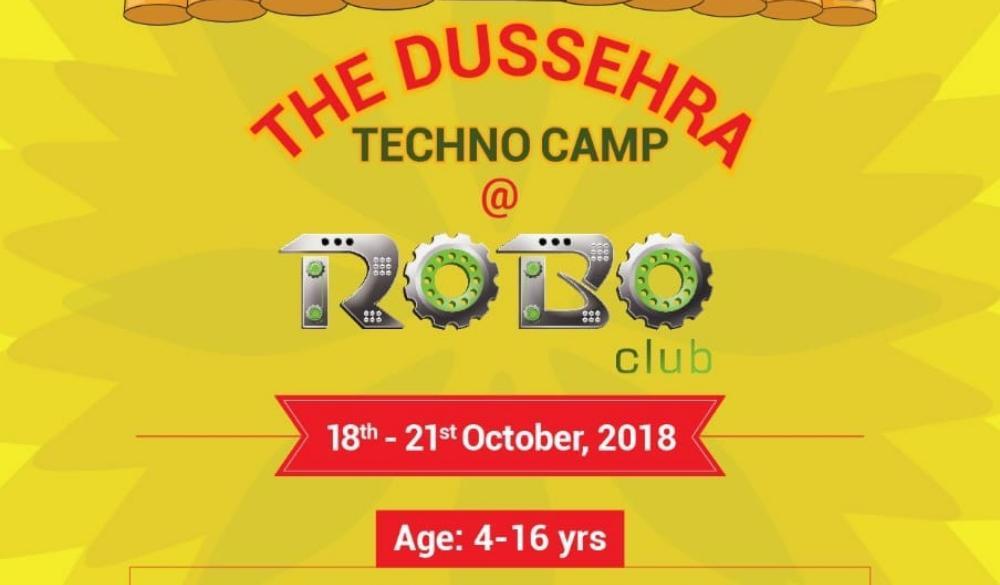 Dussehra Techno Camp (4-16yrs)